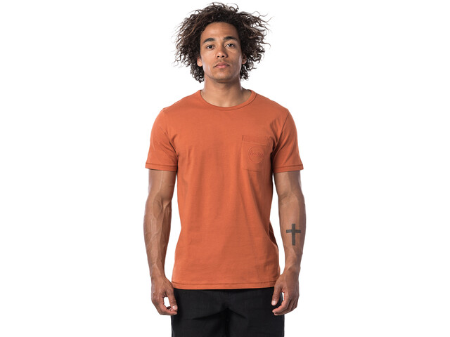 Rip Curl Eco Craft T-shirt Homme, terracotta